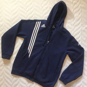 Adidas zip up jacket Medium